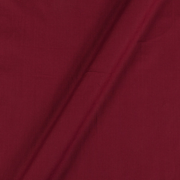Rayon Lycra Maroon Colour 46 inches Width Fabric
