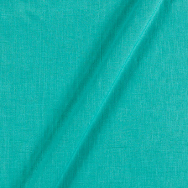 Rayon Lycra Aqua Sky Colour 47 inches Width Fabric