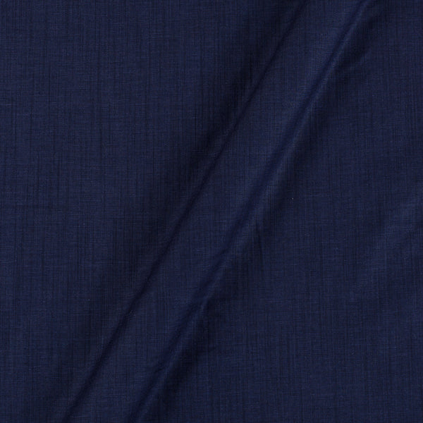 Rayon Lycra Navy Blue Colour 48 Inches Width Fabric