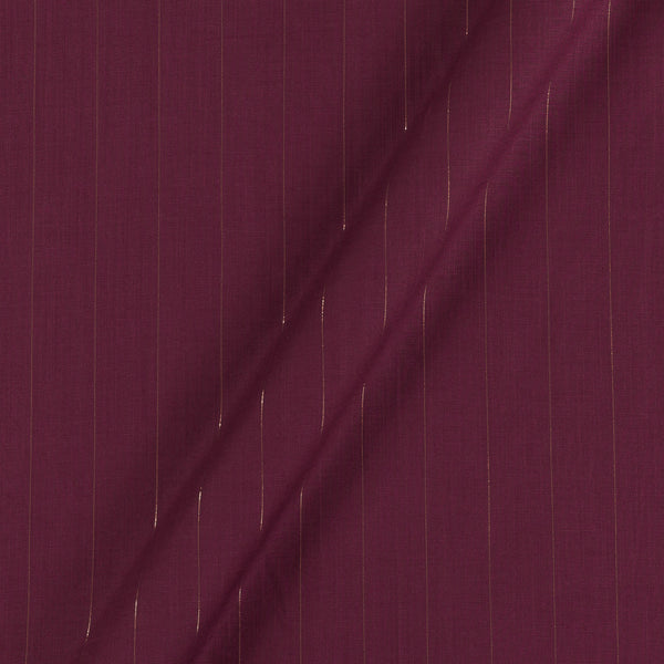 Rayon Lycra Lurex Magenta Colour 48 inches Width Fabric