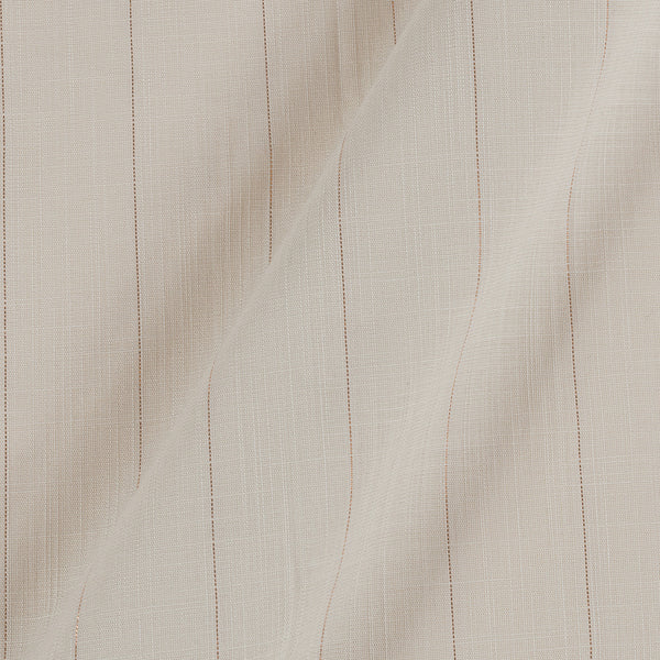 Rayon Lycra Lurex Off White Colour 45 Inches Width Fabric