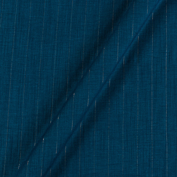Rayon Lycra Lurex Blue Colour 45 Inches Width Fabric