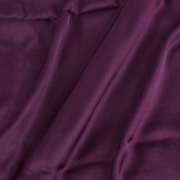 Modal Satin Magenta Colour 43 Inches Width Plain Dyed Fabric