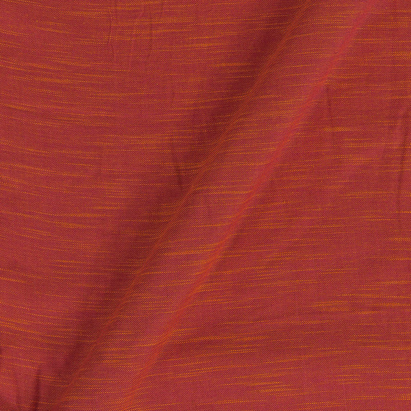 Slub Twill Cotton Plain Pink To Yellow Two Tone Fabric