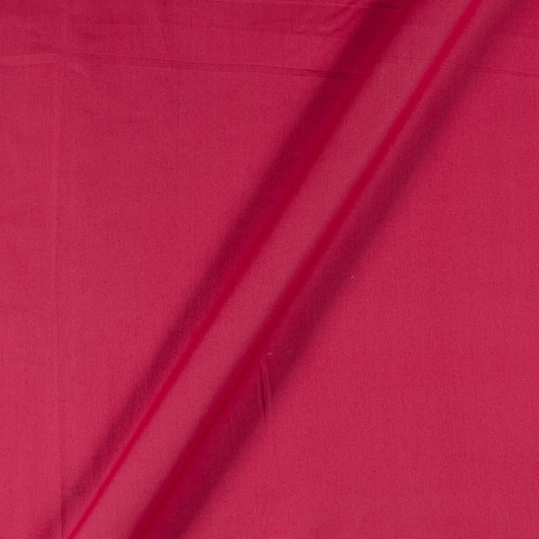 Cotton Satin Coral Colour 43 Inches Width Plain Dyed Fabric