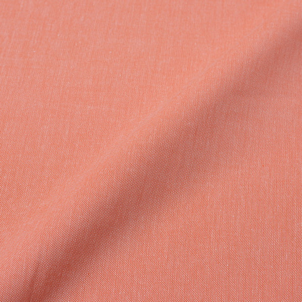 Shirting Pastel Orange Colour 56 inches Width Cotton Blend Fabric cut of 0.50 Meter