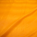 Yellow Shadded striped Chanderi Fabric