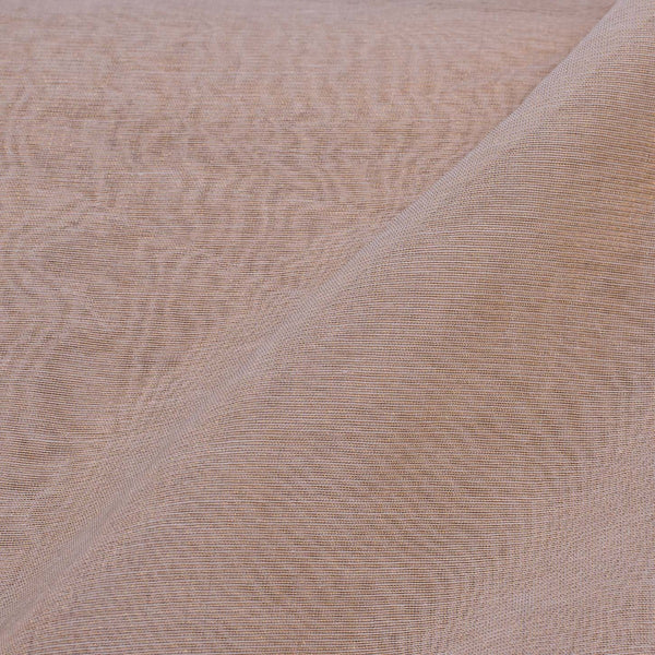 Beige Colour Zari Cotton Tissue Fabric