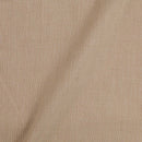 Two ply Cotton Beige Colour 43 inches Width Fabric