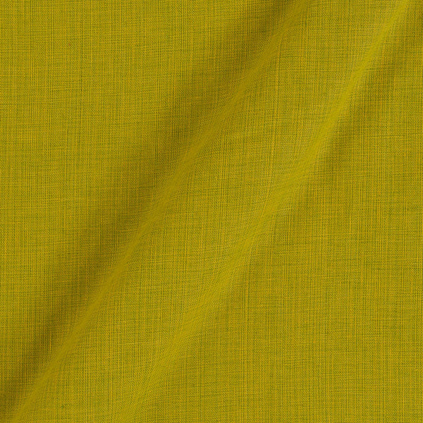 Two ply Cotton Olive Colour 43 inches Width Fabric