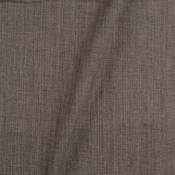 Two ply Cotton Carbon Grey Colour 42 inches Width Fabric