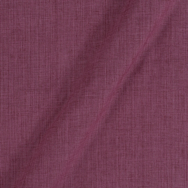 Two Ply Cotton Rose Wine 43 Inches Width Fabric