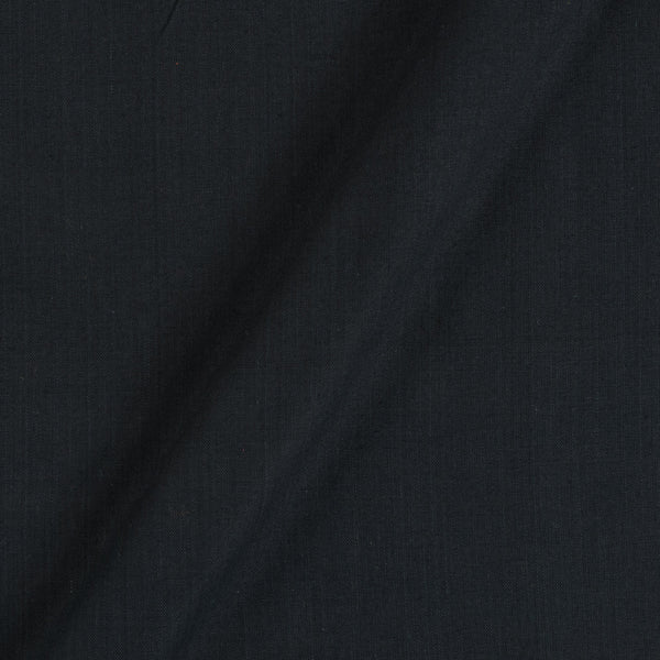 Two ply Cotton Black Colour 43 inches Width Fabric