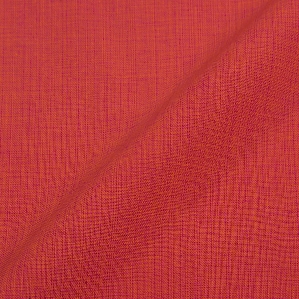 Two ply Cotton Orange Pink Mix Tone Fabric