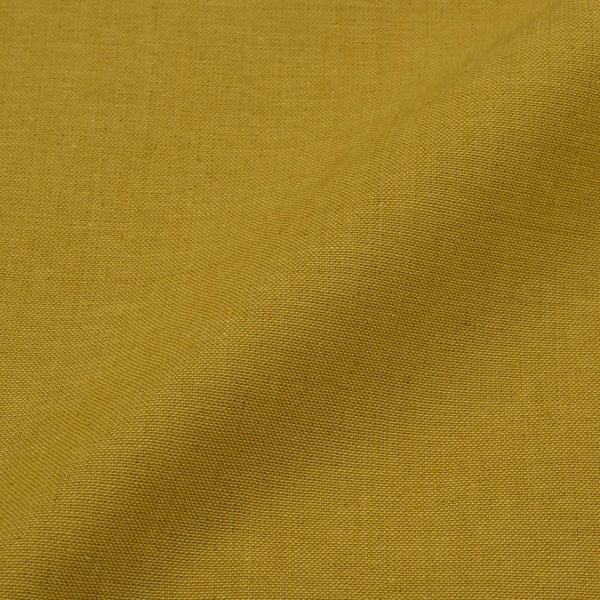 Two ply Cotton Mustard Colour Fabric Cut of 0.50 Meter