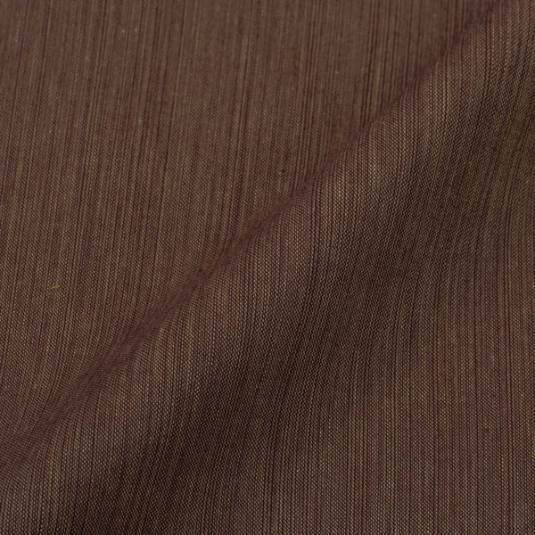 Two ply Cotton Brown Colour Fabric