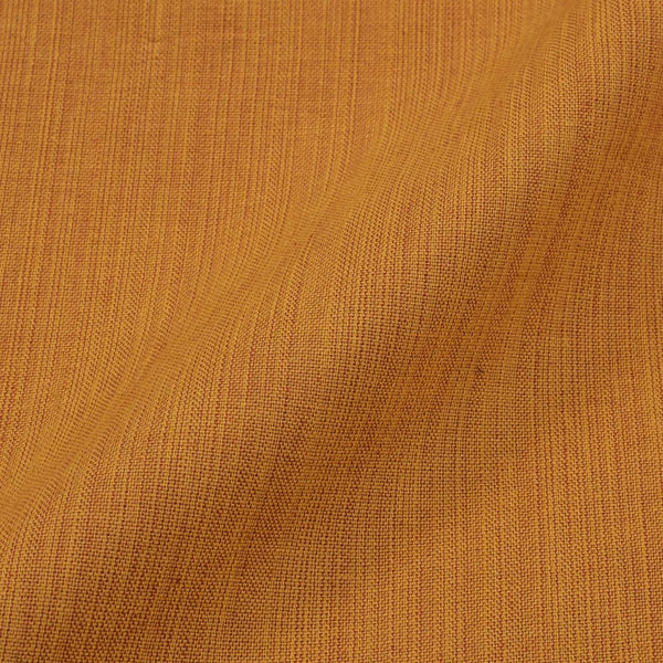 Two ply Cotton Golden Yellow Colour Fabric