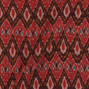 Cotton Rajasthani Pattern Ikat Red Colour 42 inches Width Fabric