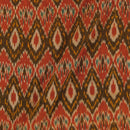 Cotton Rajasthani Pattern Ikat Brick Colour 41 inches Width Fabric