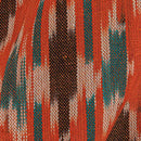 Cotton Rajasthani Pattern Ikat Orange Colour 42 inches Width Fabric