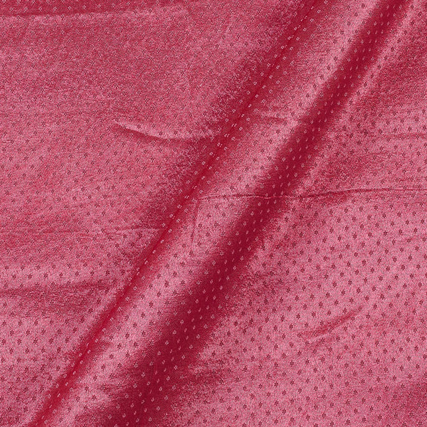 Dani Gaji Camellia Rose Colour 45 Inches Width  Fabric