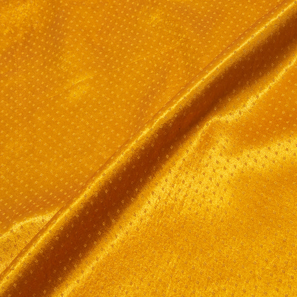 Dani Gaji Golden Orange Colour 45 Inches Width  Fabric