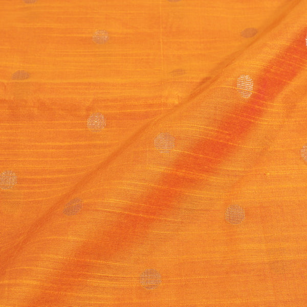 Spun Dupion Golden Orange Two Tone Golden Butta Fabric