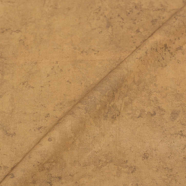 Beige Color Marble Effect Dabu Cotton Fabric 42 Inches Width