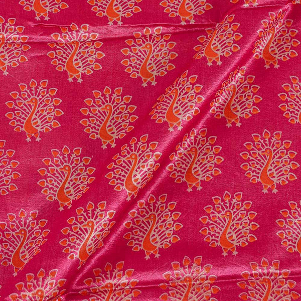 Gaji Berry Pink Colour 45 inches Width Quirky Print Fabric