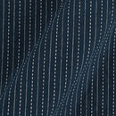 Cotton Navy Blue Colour Doriya [Kantha]   42 inches width Fabric