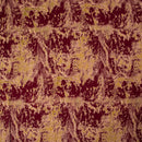 Maroon Colour Abstract Print Rayon Fabric