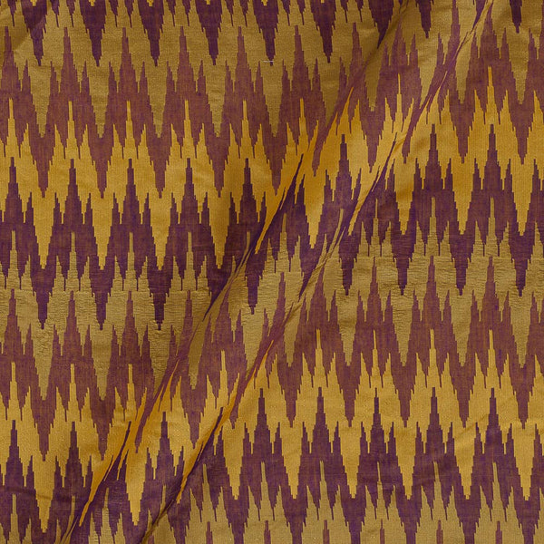 Silk Feel Jacquard Multi Colour Ikat Pattern 47 Inches Width Fabric