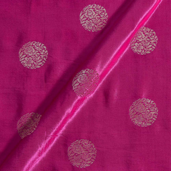 Kasab Butta Patan Gaji Dark Pink Colour Fabric
