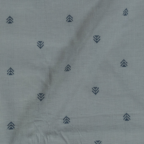 Cotton Jacquard Grey Colour 43 Inches Width Fabric