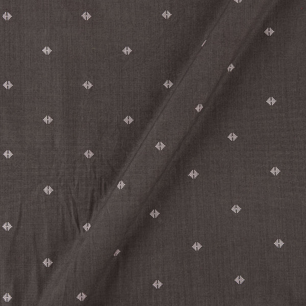 Cotton Self Jacqaurd Cedar Colour 43 Inches Width Fabric