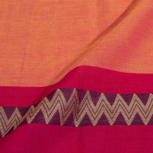 Mercerised Cotton With Two Side Border Fabric for Sarees and Kurtis