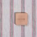 Flex Cotton Multi Stripes Washed Fabric