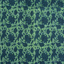 Indigo Colour Dabu Block Print 37 inch Width Pin Tucks Cotton Fabric