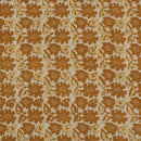Mal Cotton Mustard Yellow Colour 43 Inches Width Floral Print Dabu Fabric