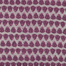 Mal Cotton Rosewood Colour 43 Inches Width Quirky Print Dabu Fabric