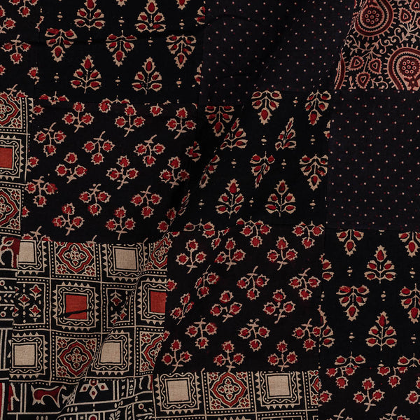 Upscaled Gamathi Cotton Black Colour 41 Inches Width Applique Fabric