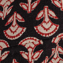 Mal Type Soft Cotton Black Colour 45 inches Width Bagru Print Fabric