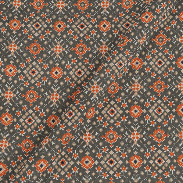 Flex Cotton Phantom Colour Ethnic Geometric Print 42 Inches Width Fabric