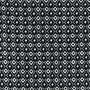 Cotton Black Colour 43 Inches Width Geometric Print Fabric
