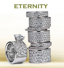Womens Eternity Bands