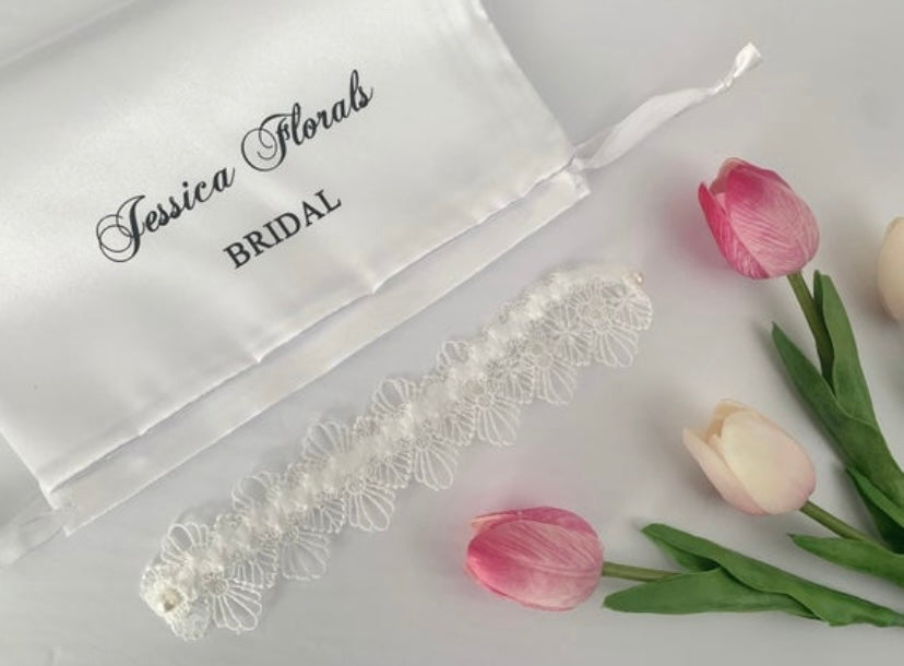 Bridal 'Lace Story' Garter