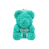 Original Rose Bear - Tiffany Blue