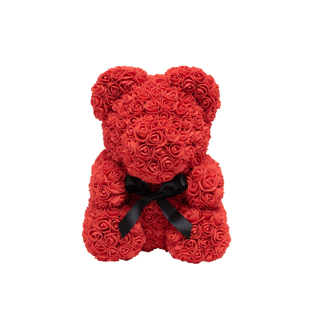 Original Holiday Rose Bear - Red