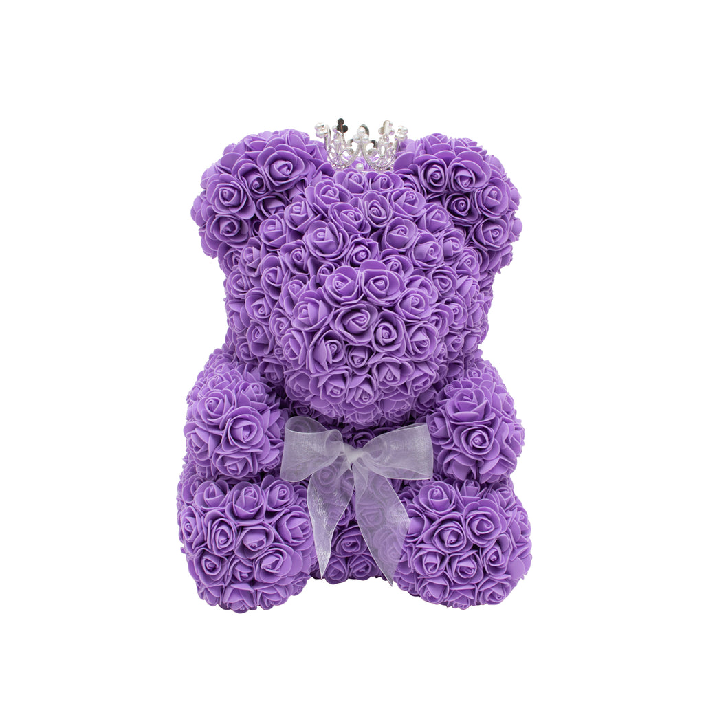 Original Rose Bear - Purple