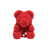Original Rose Bear w/Scarf - Red